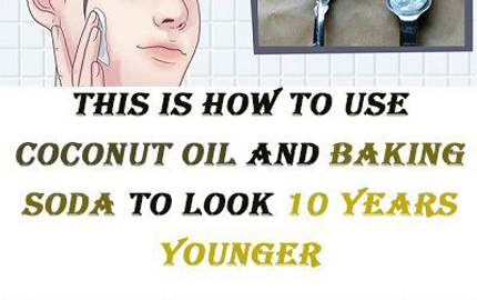 Coconut Oil And Baking Soda To Look Younger