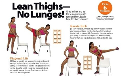 Lean Thighs, No Lunges