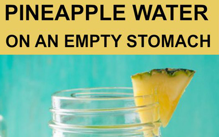 Pineapple Water On An Empty Stomach