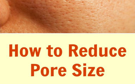 Reduce Pore Size