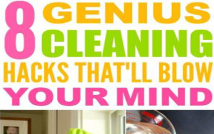 Genius Cleaning Tips and Tricks