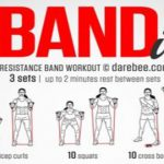 Work it Out Using a Resistance Band, Great for People Without a Lot of Equipment