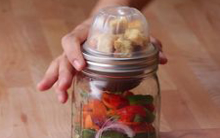 Mason Jar Snack Packs For This Summer