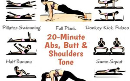 Abs Butt Tone; 20 Minute Effective Expert Designed Workouts