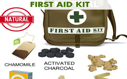 How to Make Your Own Natural First-Aid Kit?