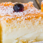 Magic Cake – One Simple Thin batter, Bake it and Voila! You End up With a 3 Layer Cake, Magic Cake