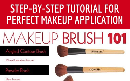 Step-By-Step Tutorial for Perfect Makeup