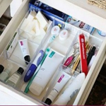Quick Bathroom Organization With Before and After Photos