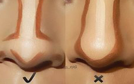 Contouring Hacks That'll Make Your Nose Look Smaller