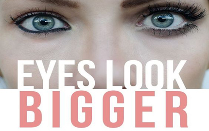 How To Make Small Eyes Appear Bigger