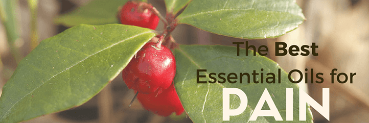 Best Essential Oils for Pain - Back, Nerve, Neck, Shoulder & Knee