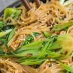 Quick Recipe - 15 minute sesame ginger noodles