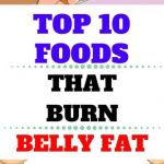 TOP 10 FOODS THAT BURN BELLY FAT FAST