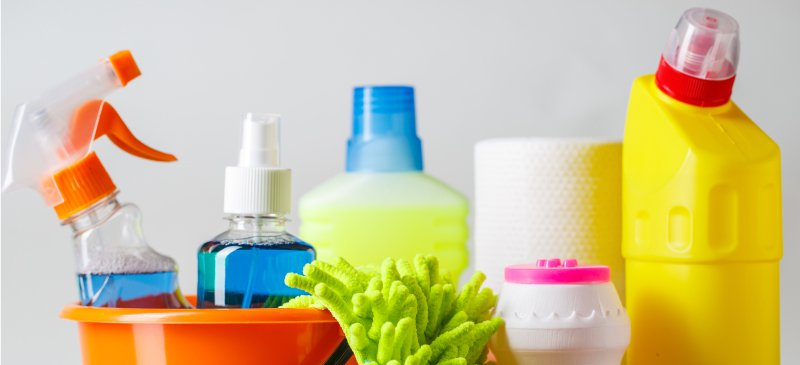 Danger of Home Cleaning Products