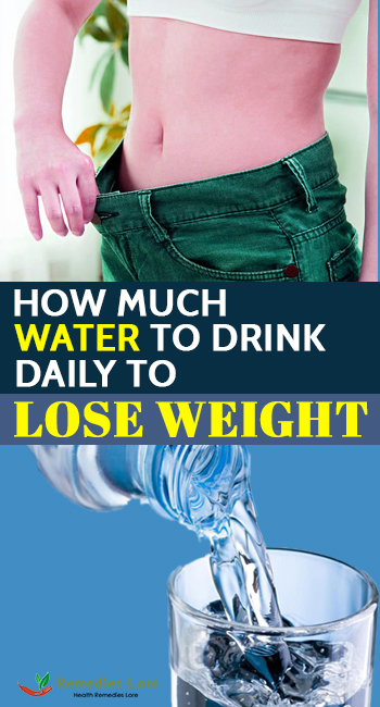 How Much Water To Drink Daily To Lose Weight