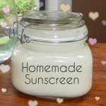DIY ULTRA MOISTURIZING, NON TOXIC SUNSCREEN REMEDY
