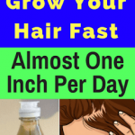 Grow Your Hair Faster. Almost One Inch Per Day