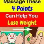Massage These 4 Points Can Help You Lose Weight