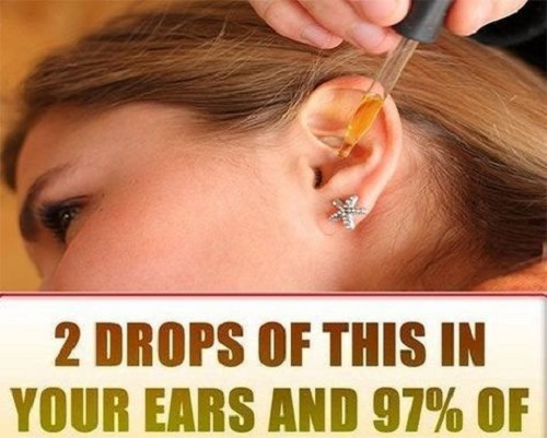 2 DROPS OF THIS IN YOUR EARS AND 97% OF YOUR HEARING RECOVERS BY THIS SIMPLE AND NATURAL REMEDY