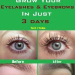 Grow your eyelashes & eyebrows in just 3 days