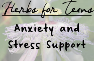 Natural Roots zine [Herbal Rootlets]: No. 122 - Herbs for Teenagers: Nervousness and Stress Help