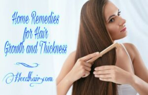 High 20+ Greatest Dwelling Treatments for Hair Development and Thickness
