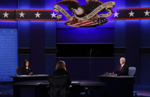 In Debate, Pence and Harris Supply Conflicting Views of Nation's Actuality