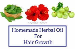 How To Make Selfmade Hair Oil For Hair Development? 5 Finest Herb Oil For Hair